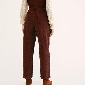 Free People Pants - NWOT Free People Luna Cord One Piece Jumpsuit Blue